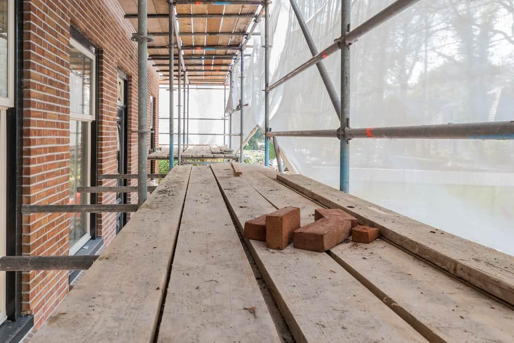 brick repair and restore works